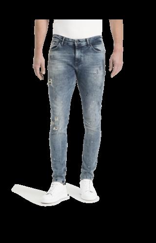 Purewhite Pure White The jone W0510 FW20 Blue jeans