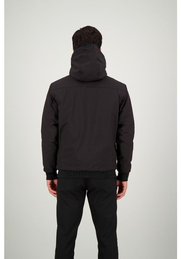 Airforce Padded Bomber FRM0341 Black