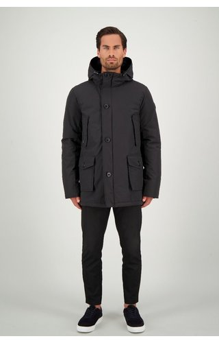 Airforce AIRFORCE CLASSIC PARKA ICE HRMO333 TRUE BLACK
