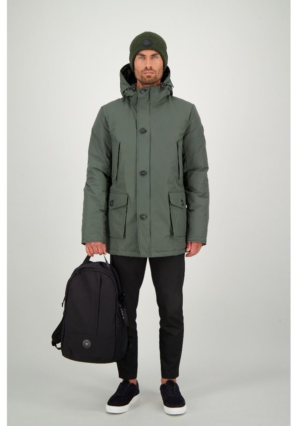 AIRFORCE CLASSIC PARKA ICE HRMO333 DUFFELBAG