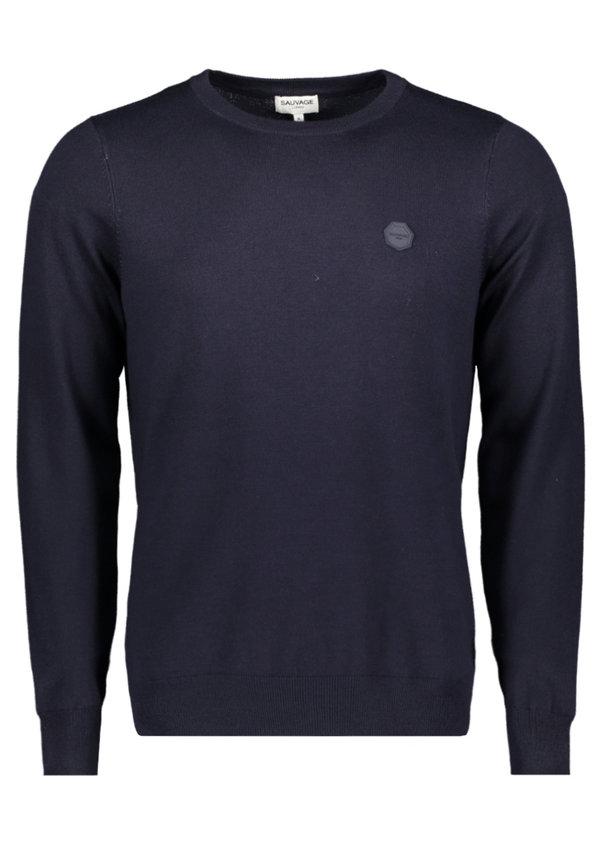 Sauvage Longsleeve Knitwear Seth SMFW-0104 Black
