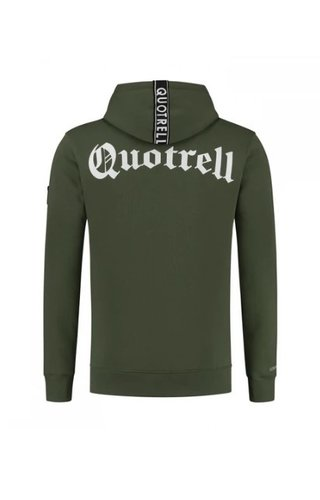 Quotrell Quotrell Commodore Hoodie Army Green