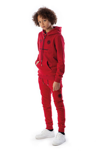 Black Bananas Black Banans JR Fleece Jogger Red