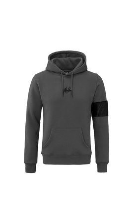 Malelions Malelions Captain Hoodie Antraciet-Black