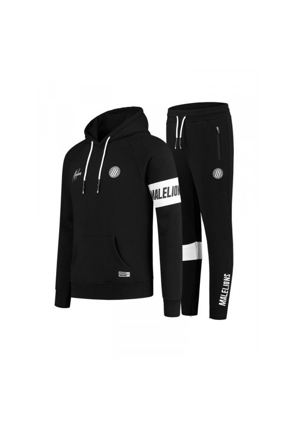 Malelions Sport Captain Tracksuit MS-AW20-1-7 Black-White