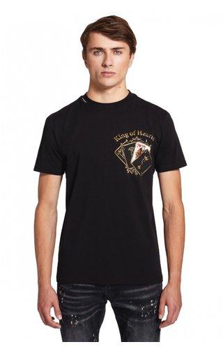 My Brand My Brand Pokercards Chest T-shirt Black