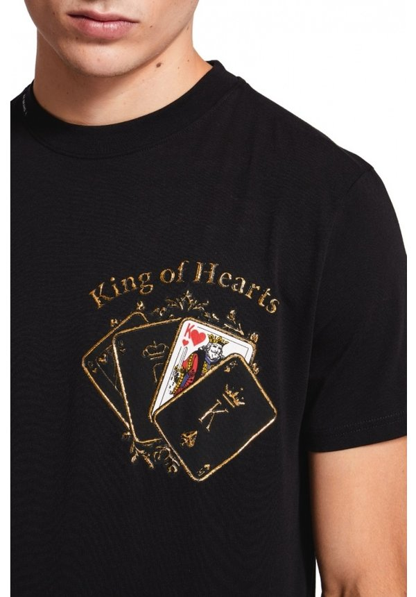 My Brand Pokercards Chest T-shirt Black