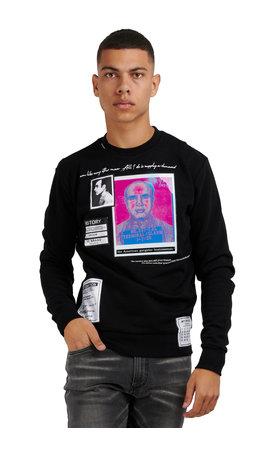 My Brand My Brand Wiki Alcapone Sweater 1-Y20-005-A-0026 Zwart