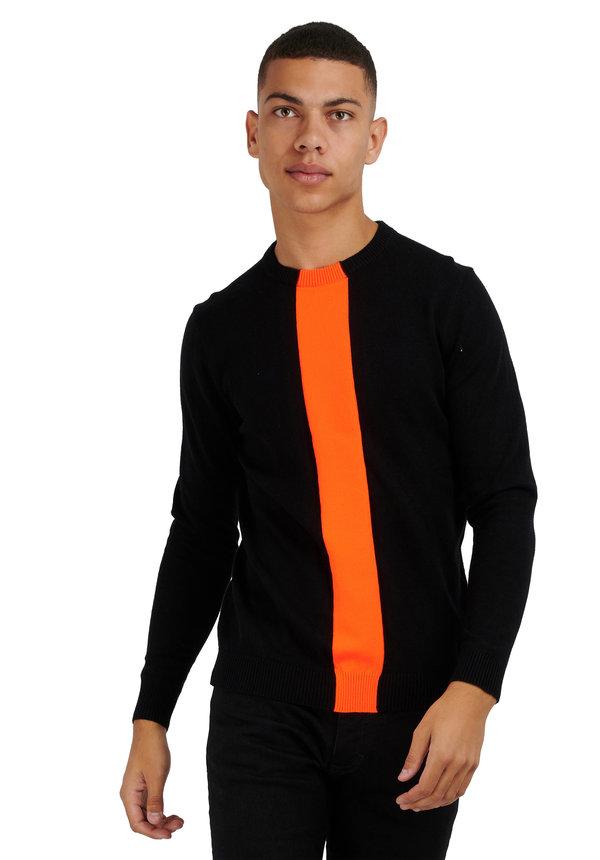 Antony Morato Sweater Orange MMSW01134 Black
