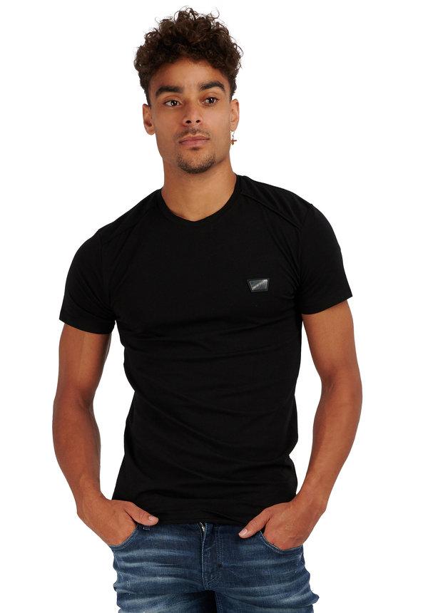 Antony Morato Basic T-shirt Black  MMKS01826