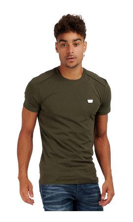 Antony Morato Antony Morato Basic T-shirt Army  MMKS01826