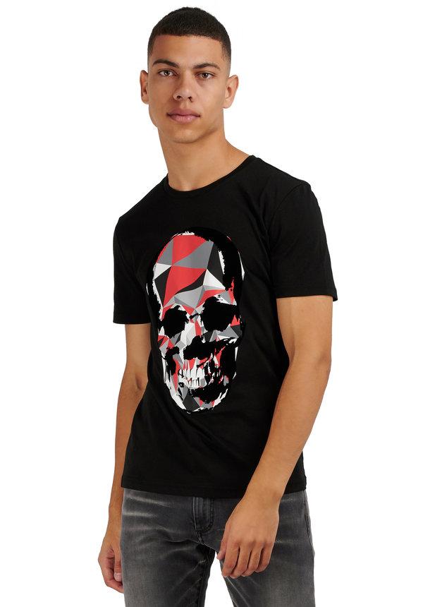Antony Morato MMKS01867 Skull Tshirt zwart