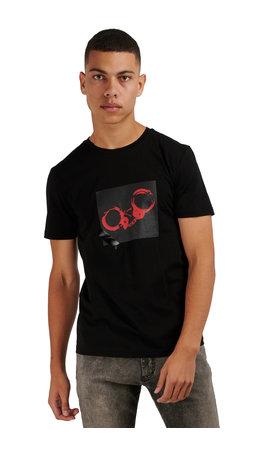 Antony Morato Antony Morato SS20 T-shirt Classic Punk Black MMKS01866