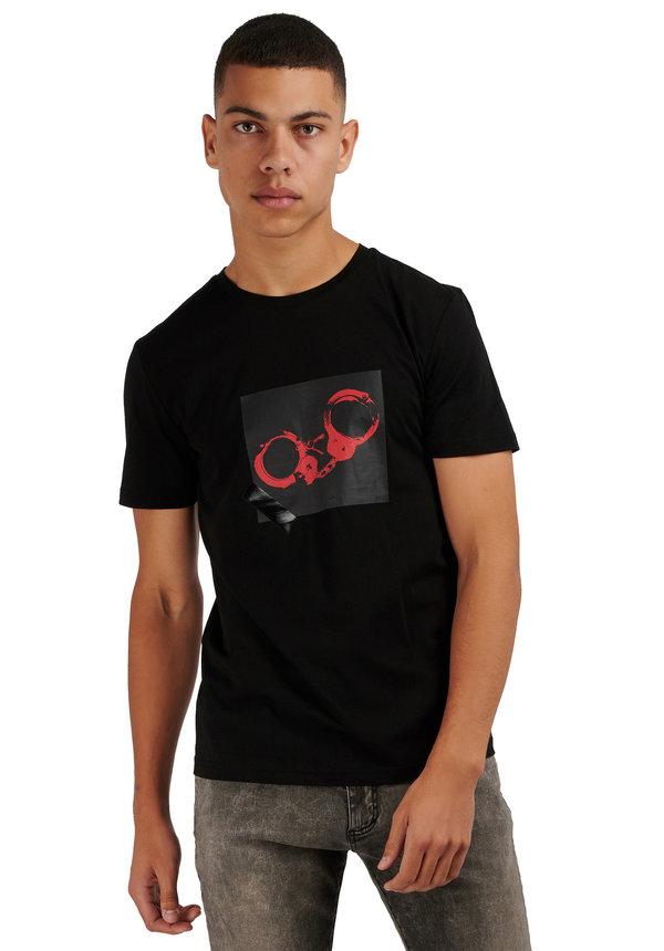 Antony Morato SS20 T-shirt Classic Punk Black MMKS01866