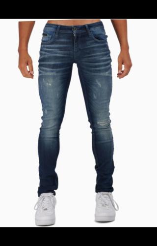 Antony Morato Antony Morato SS20 Tapered Jeans MMDT00241 Blue