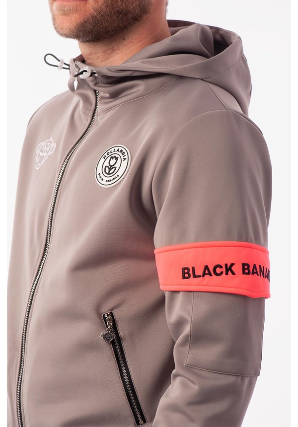 Black Bananas  FW2020/044 Captain Tracksuit Grey/Pink