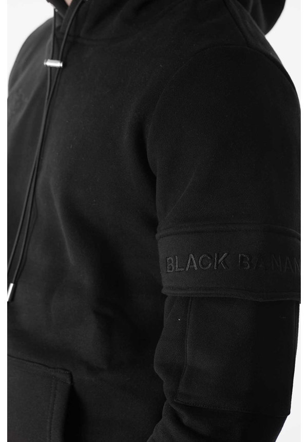 Black Bananas FW2020/045 Captain Hoody Black/Black