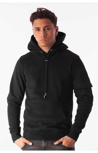 Black Bananas Black Bananas FW2020/045 Captain Hoody Black/Black
