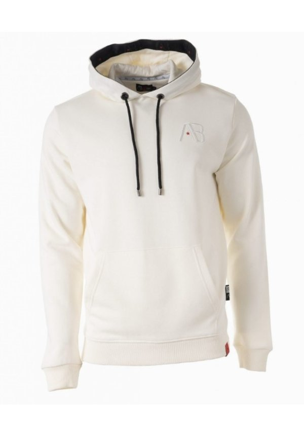 AB-Lifestyle Taped Hoodie Wit