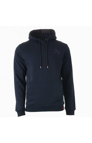 AB-Lifestyle AB-Lifestyle Taped Hoodie Navy