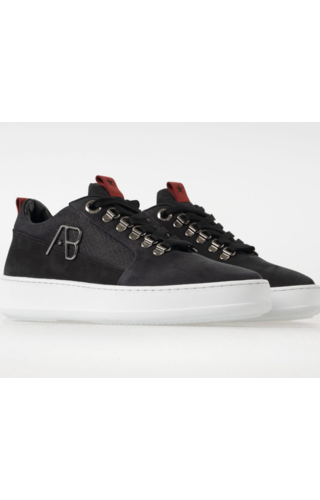 AB-Lifestyle AB-Lifestyle Footwear -Nubuck Zwart