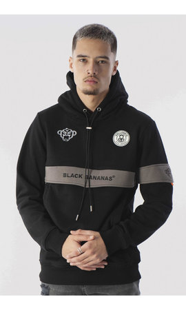 Black Bananas Black Bananas Anorak Captain Hoody Black