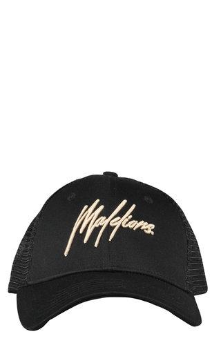 Malelions Malelions Cap Signature Black-Gold