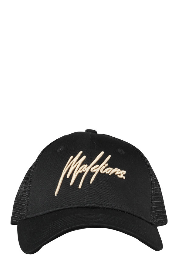 Malelions Cap Signature Black-Gold