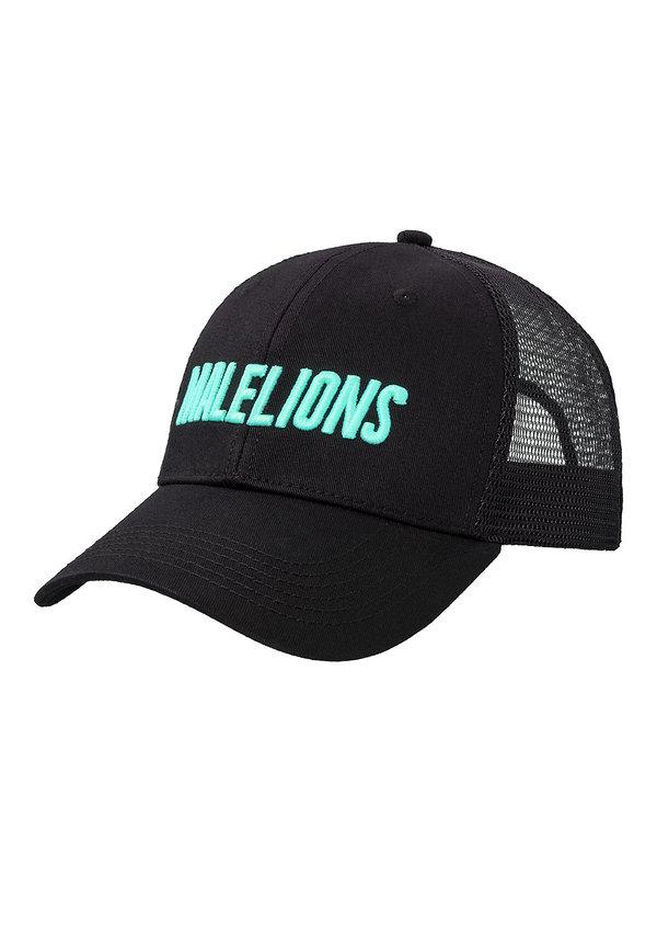 Malelions Cap Cursief Turquoise