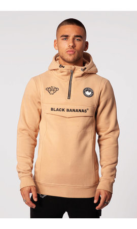Black Bananas Black Bananas Anorak Pull-up Hoody Sand