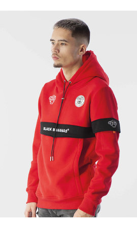 Black Bananas Black Bananas Anorak Captain Hoody Red