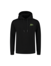 Malelions Double Signature Hoodie Black-Yellow