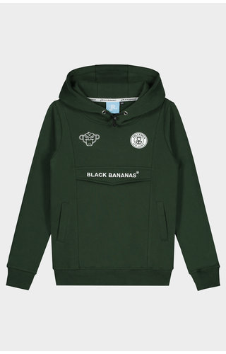 Black Bananas JRFW20 Anorak Hoody JR Green