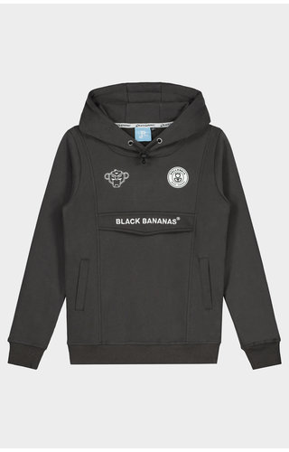 Black Bananas JRFW20 Anorak Hoody JR Grey