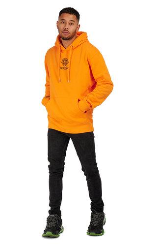 LEYON Leyon Hoody Logo Oranje