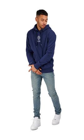 LEYON Leyon Hoody Logo Blauw