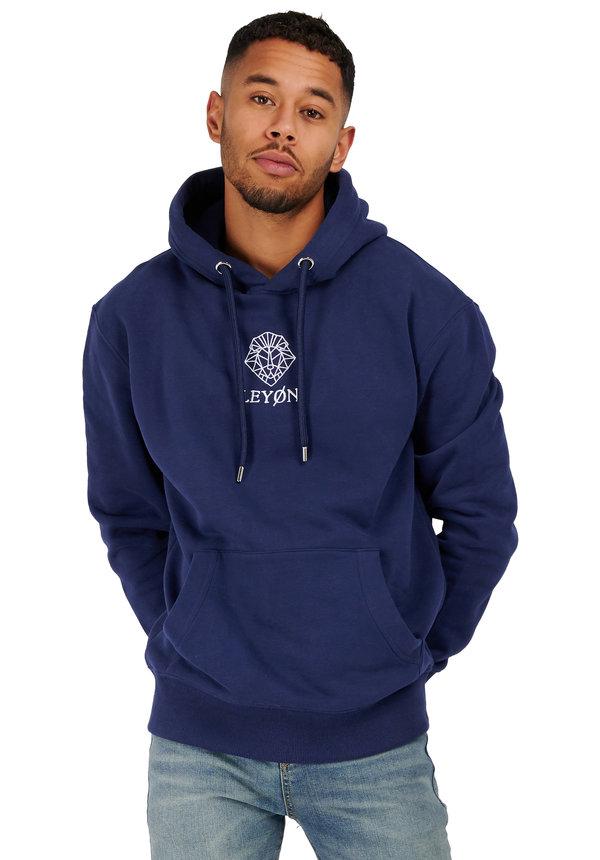 Leyon Hoody Logo Blauw