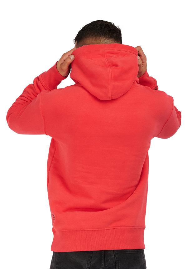 Leyon Logo Hoody Red