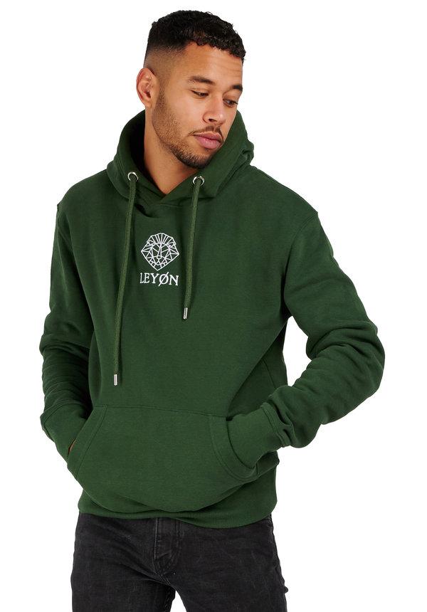 Leyon Hoody Logo Groen