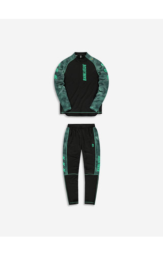 Robey X Banlieue Tracksuit Black/Green