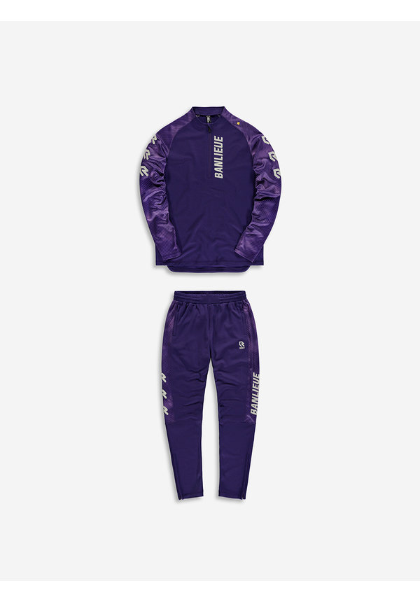 Robey X Banlieue Tracksuit purple/grey