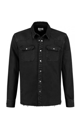 Circle of trust Torn Shirt Real Black