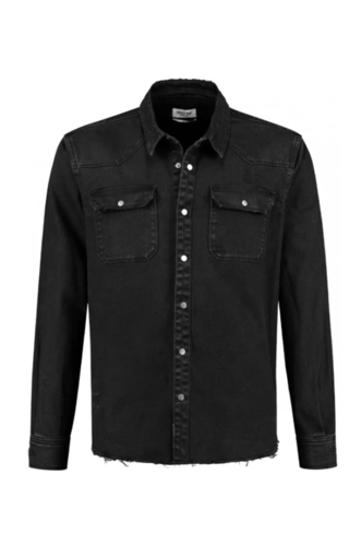 Circle of trust Torn Shirt Real Black