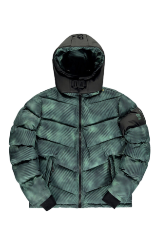 Robey X Banlieue Banlieue X Robey Padded Jacket Green