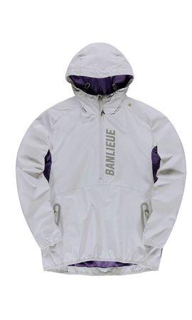 Robey X Banlieue Robey X Banlieue Anorak'20 Grey/Purple