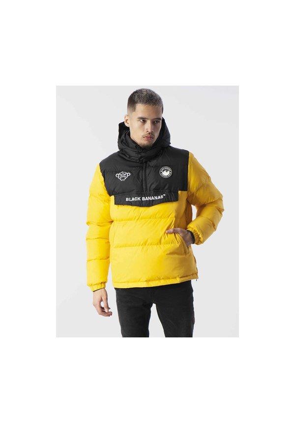 Anorak Block Jacket Yellow