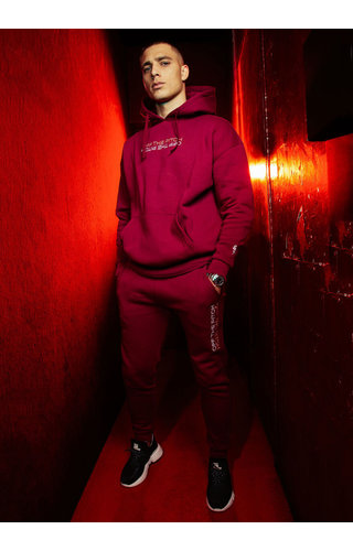Off The Pitch OTP The Soul Track Suit Dark Red
