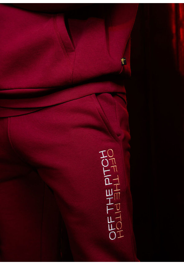 OTP The Soul Track Suit Dark Red