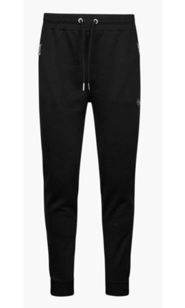 Cruyff Valentini Track Pants Black/Silver