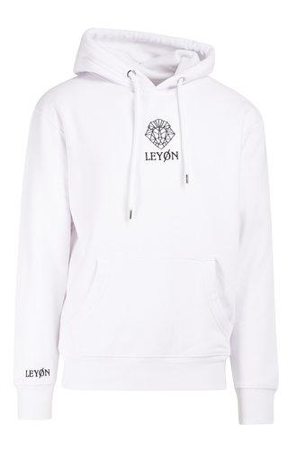 LEYON Hoody Logo Wit